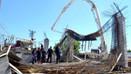 Girne'de inşaat çöktü, 5 kişi yaralandı!