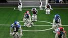 Robotlar 2050'de insanlarla futbol oynayacak