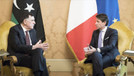 Libya Başbakanı, İtalya'da Conte ile görüştü