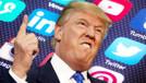 Trump'ın sosyal medya hesaplarına bloke!
