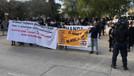 Anastasiadis'e karşı sokaklarda Rum protestosu