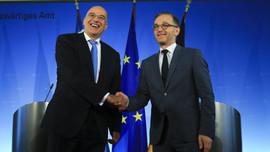 Almanya'dan, Doğu Akdeniz'de Rumlara destek