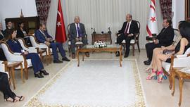Başbakan Tatar spor ambargolarına isyan etti
