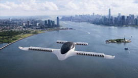 'Uçan taksi saatte 100 kilometre hızı aştı'