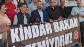 KTAMS'tan Bakanlık önünde basın açıklaması!