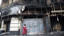 İran'daki gösterilerde 15 polis yaralandı
