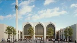Almanya'da 2 bin kişilik cami projesi tanıtıldı