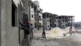 İdlib'te, 'Yeni hayat konutları' artıyor