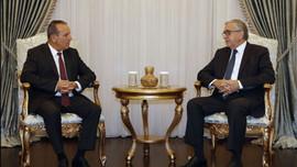 DP Başkanı Ataoğlu, Akıncı'yı ziyaret etti