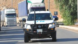 BM'den İdlib'e 21 TIR'lık insani yardım