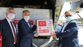 Türkiye'nin tıbbi yardımları Makedonya'ya ulaştı