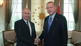 Erdoğan ve Rusya Devlet Başkanı Putin görüştü