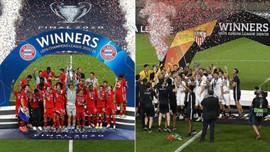 Bayern ve Sevilla, Avrupa'da 6. kez şampiyon
