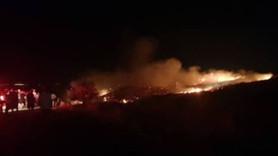 KKTC'de askeri bölgedeki cephanelikte patlama