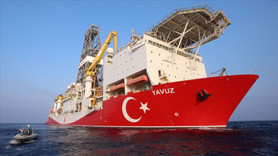 Yavuz sondaj gemisi Kıbrıs açıklarında