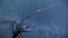 Kıbrıs'a düşen meteor kameralara yansıdı