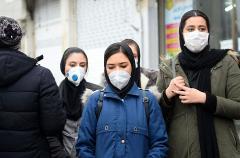 İran'da halkta yeni tip koronavirüs korkusu