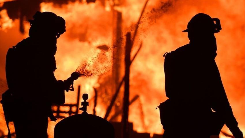 Tarlada yaktığı ateş yangına neden oldu