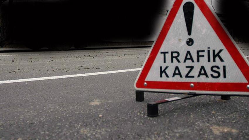 Girne-Lefkoşa Anayolu'nda kaza meydana geldi