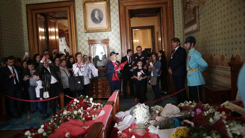 Dolmabahçe'yi 10 Kasım'da 105 bin kişi ziyaret etti