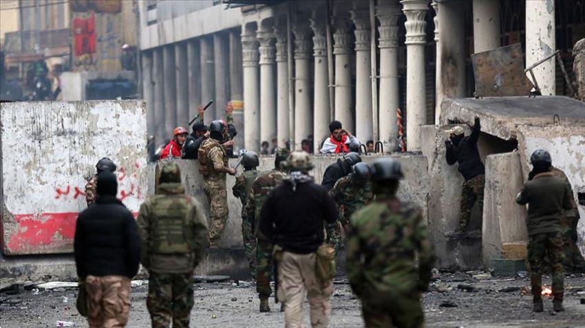Irak'taki gösterilerde en az 460 kişi öldü!