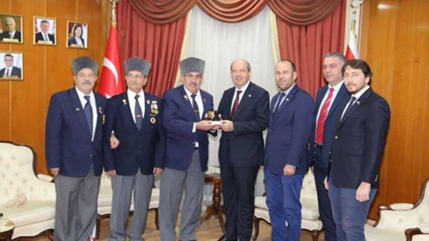 Tatar, Muharip Gaziler Derneği'ni kabul etti