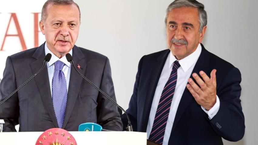 Erdoğan Akıncı'nın açıklaması için yorum yaptı