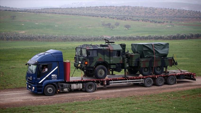 Suriye sınırına çok namlulu roketatar gönderildi