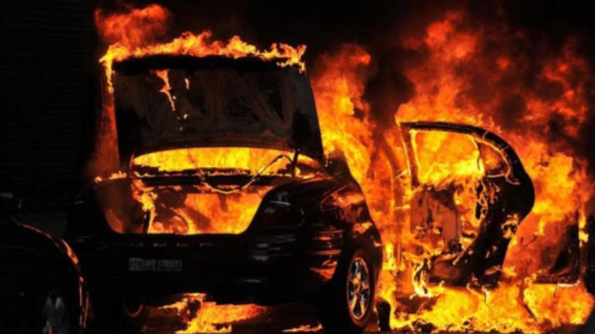 Yeni aldığı araba çalışmayınca ateşe verdi!