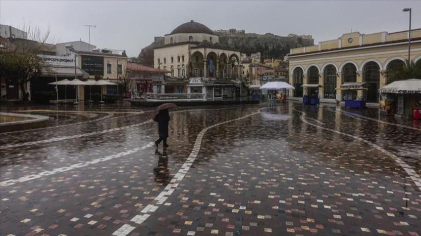 Korana sonrası Atina 'hayalet kent'e döndü