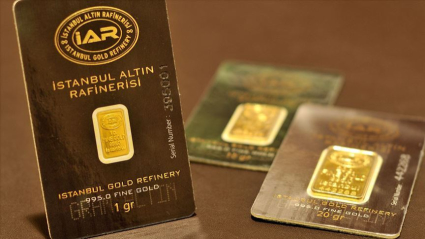 Darphane gram altın üretimine yeniden başladı