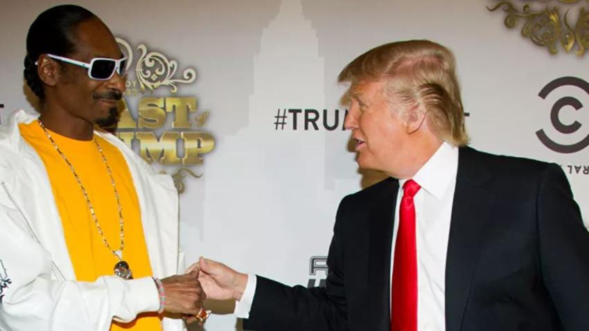 Trump yüzünden Snoop hayatında ilk kez oy kullanacak