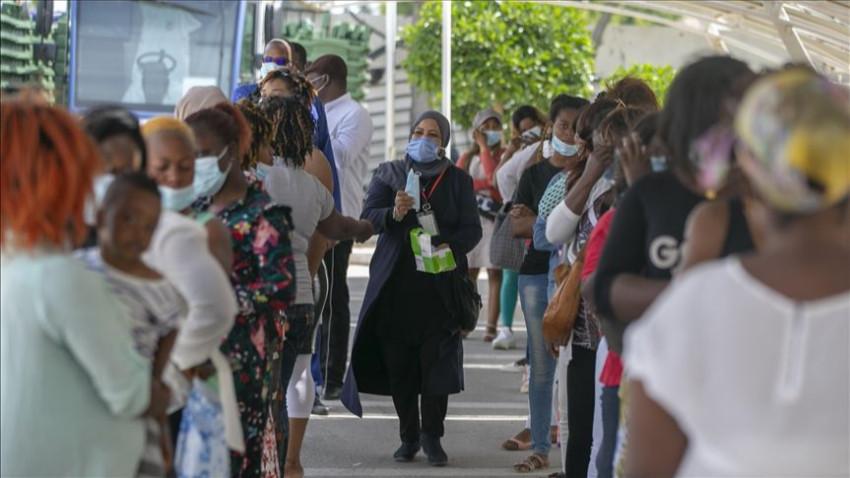 Afrika'da Kovid-19 vakaları 242 bini aştı
