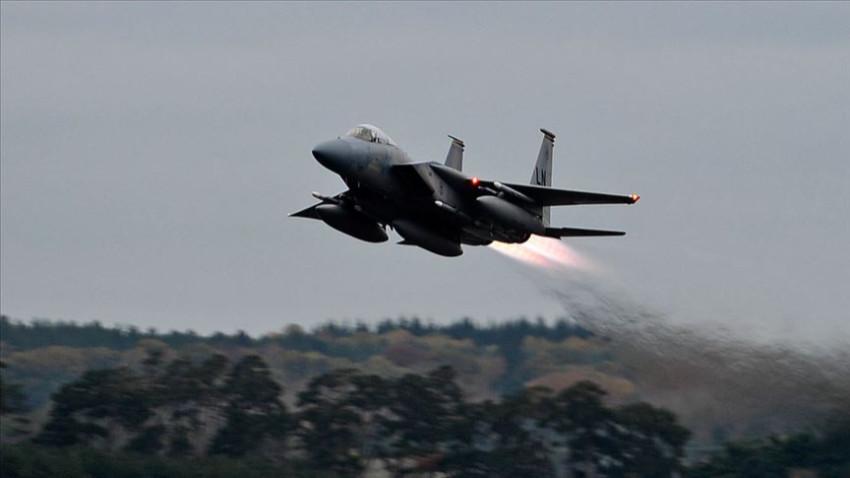 İngiltere'de ABD ait bir savaş uçağı düştü