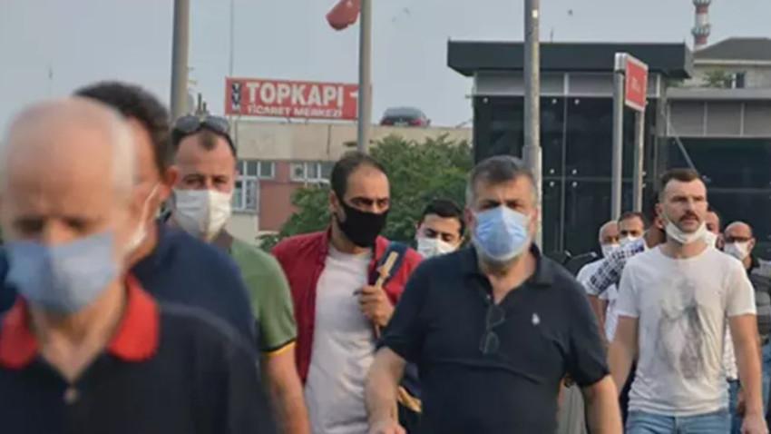 İstanbul Ankara ve Bursa'da açık alanlarda maske takma zorunluluğu getirildi
