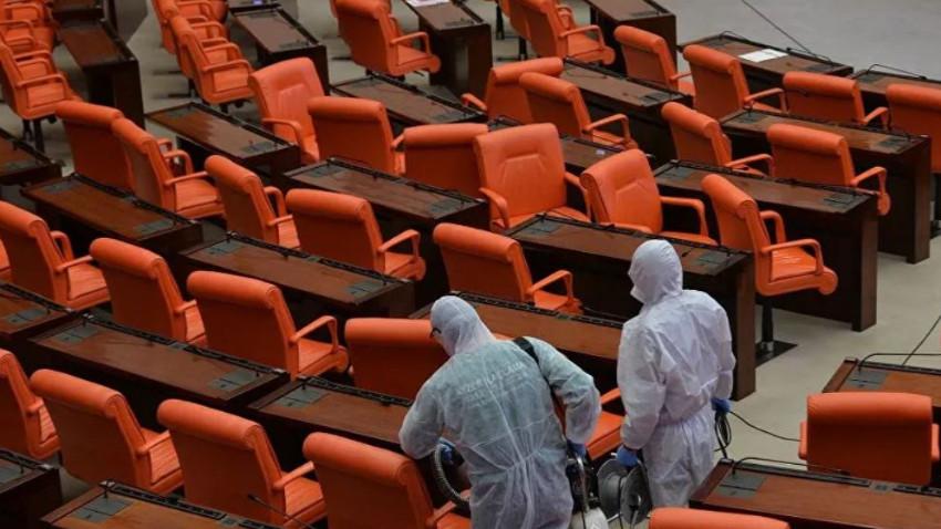 Meclis'te 6 koronavirüs vakası daha