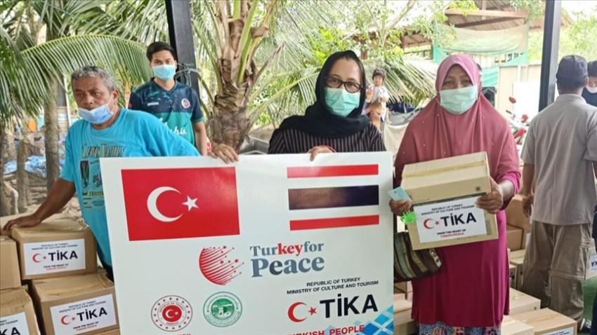 TİKA'dan Tayland'da 1200 aileye gıda yardımı