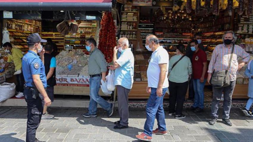 Türkiye'de maske takmayan 7 bin kişiye ceza