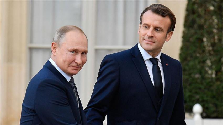 Putin ve Macron Libya için görüşme yapacak