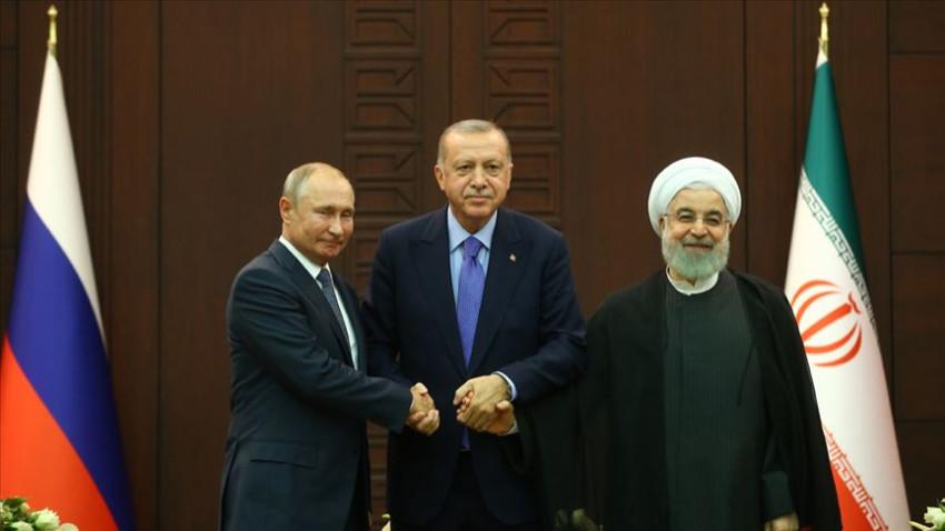 Erdoğan, Putin ve Ruhani ile Suriye'yi görüşecek