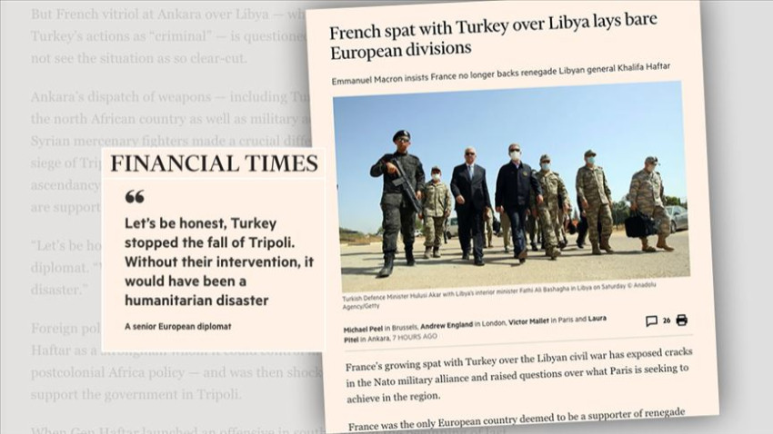 Financial Times: Hafter Fransa için artık yük