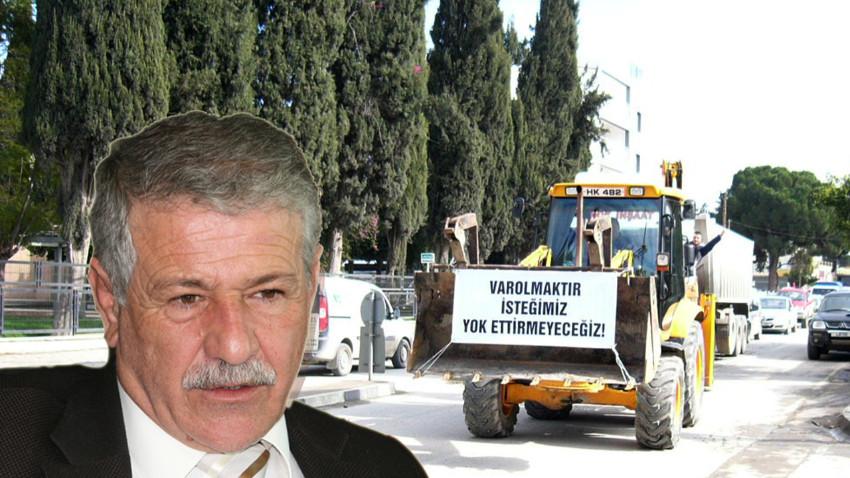 Kıbrıslı müteahhitler eylemlere yeniden başlıyor