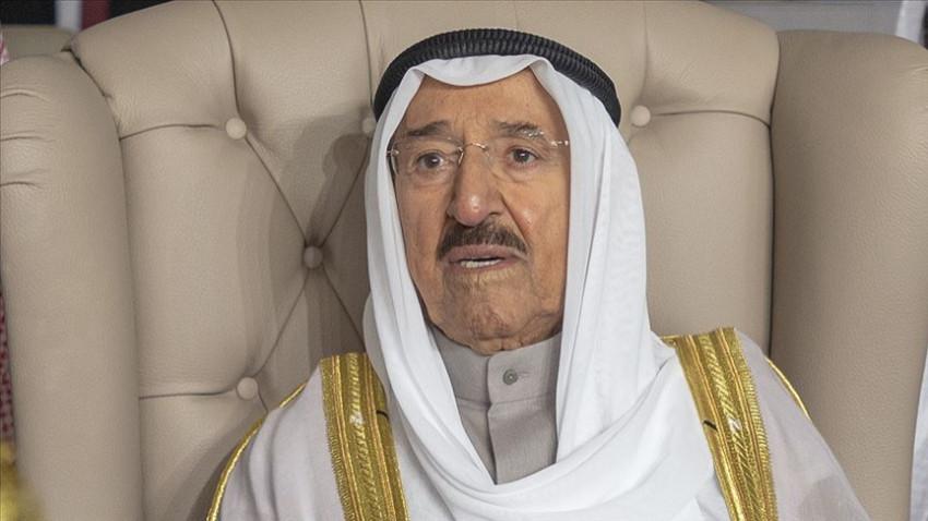 Kuveyt Emiri kontrol için hastaneye kaldırıldı
