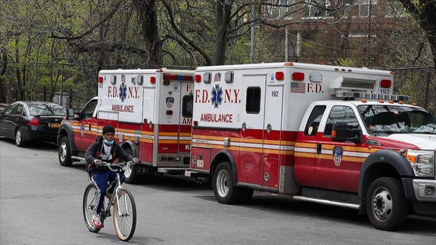 ABD'de son 24 saatte 428 kişi hayatını kaybetti