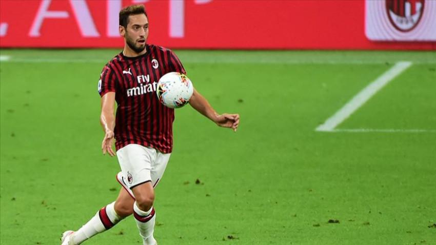 Hakan Çalhanoğlu'nun golü Milan'a yetmedi