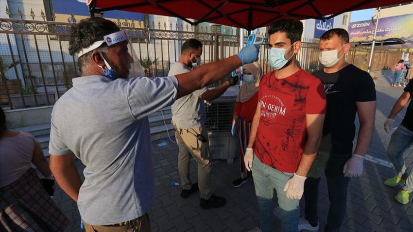 Irak'ta Kovid-19 nedeniyle bir günde 96 kişi öldü
