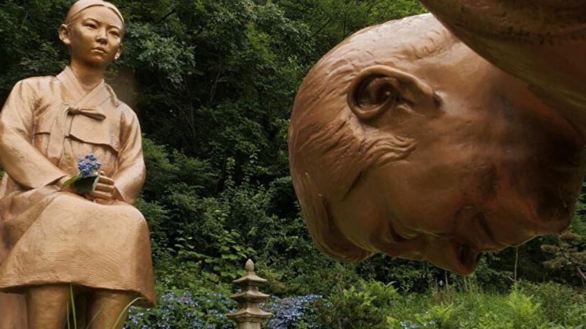 Japonya ile Güney Kore arasında heykel krizi