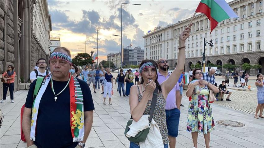Bulgaristan'da hükümet karşıtı protestolar sürüyor