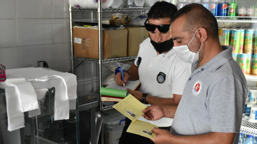 Girne Belediyesi'nden korona virüs denetimi