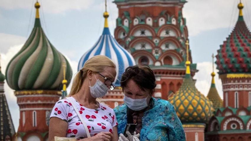 Rusya'da Kovid-19 vaka sayısı 4828 arttı